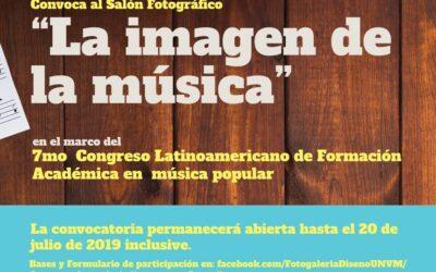 """Convocatoria """"La imagen de la música"""""""