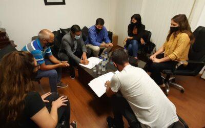 Se firmó un Protocolo de trabajo conjunto con el Municipio Villanovense