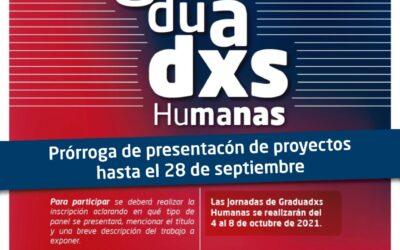 Prorrogaron el plazo de inscripciones para las Jornadas de Graduados/as del Instituto de Humanas de la UNVM