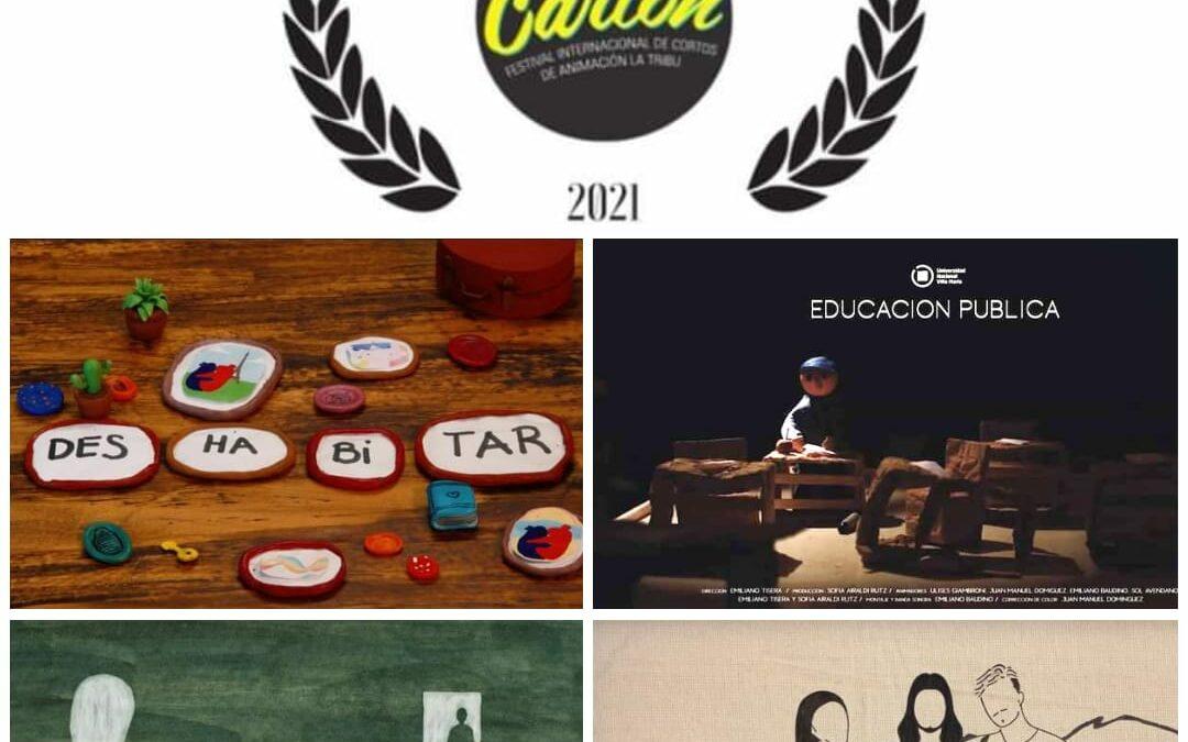 Cinco cortometrajes de la carrera de Diseño fueron seleccionados para un Festival Internacional
