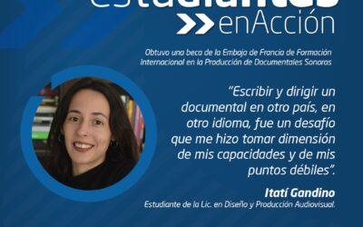 """Itatí Gandino: """"Escribir y dirigir un documental en otro país, en otro idioma, fue un desafío"""""""